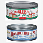 Check your preps for huge Bumblebee tuna recall
