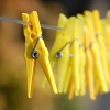 Do you have a clothesline and clothespins?